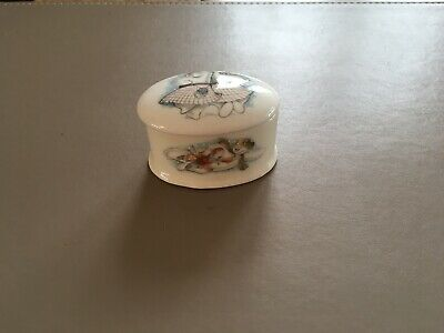 Royal Doulton The Snowman Collection Trinket Box Highand Fling 1985 • 10£