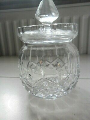 Vintage Rogaska Crystal Jam/honey Pot • 15£