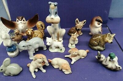Miniature China/ Porcelain Animals Collection. (5x WADE)  • 5.50£