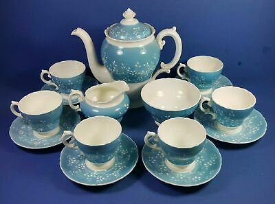 Classic Retro Cauldon China Vintage Coffee Set For Six - Very Good Condition • 64.50£