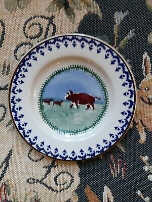 Nicholas Mosse `Pig And Piglets` Small Side Plate - 5  Dia - New -  • 0.99£
