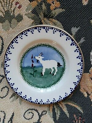 Nicholas Mosse Small Side Plate - 5  Dia - New - Never Used - `Goat` -  • 6.05£