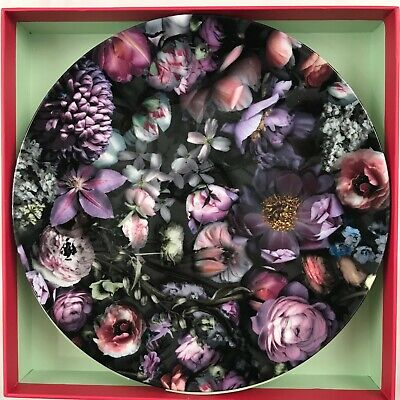 Portmeirion Ted Baker Shadow Floral Plate Set Of 2 • 29£