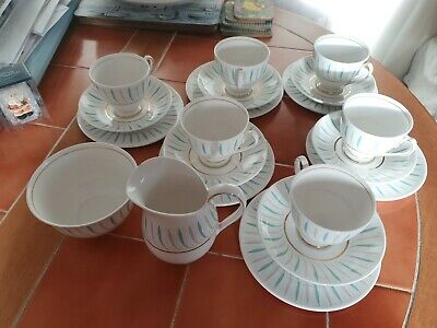 A Beautiful Vintage Queen Anne Fine China Coffee Set In The  Caprice  Pattern  • 10.99£