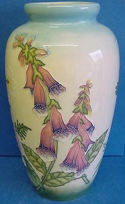 Old Tupton Ware English Garden Pattern Tubelined Ceramic 11  Tall Vase 7901 • 89.99£