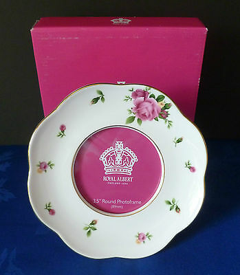 Royal Albert New Country Roses Photograph Picture Frame New Boxed Mint Gift • 12.99£