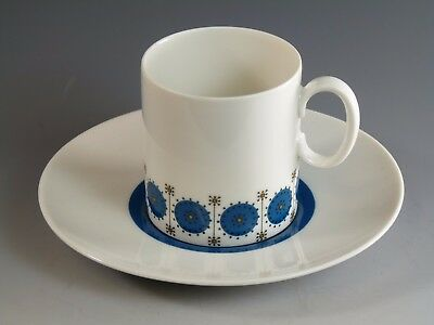 THOMAS Porcelain - MEDALLION By Richard Scharrer - Coffee Cup & Saucer • 16.99£