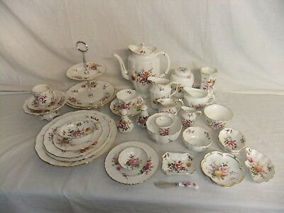 C4 Porcelain Royal Crown Derby - Posies (No.839892) - VARIOUS STAMPS - 1A4B • 76.99£