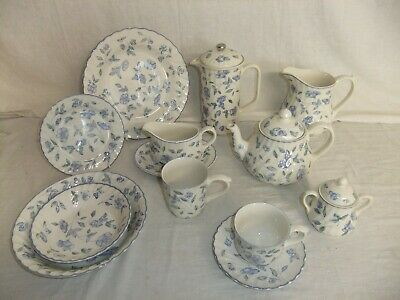 C4 Pottery BHS Bristol Blue - Plate Bowl Teapot Tureen - MORE ITEMS ADDED - 8D2B • 14.99£