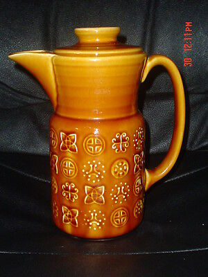 Lord Nelson Pottery Brown Tan Retro Coffee Pot • 19.99£