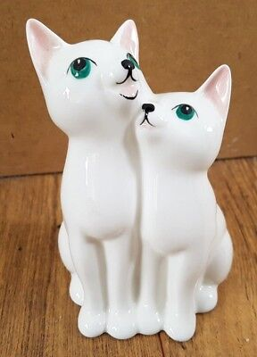 John Beswick Little Likeables Cats Chorus Cute 5  Tall Collectable 1984 Gift • 18.99£