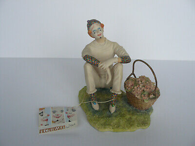 Border Fine Arts Intermission Series - Clown  Figurine - Ben Black- Ltd Ed • 20£