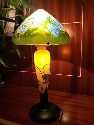 Details About  Very Beautiful. Emile Galle Lamp  • 269£