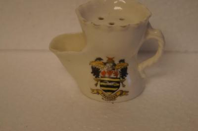 Crested China Small Shaving Mug With Blackpool Crest By Gemma. • 8.99£