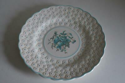 A Lovely Vintage Copeland Spode Plate Embossed Daisy Rim With Flower & Fruit. • 14.99£