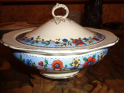 Hancocks And Sons Corona Ware Lidded Tureen Circa 1912 - 1937 • 22.99£