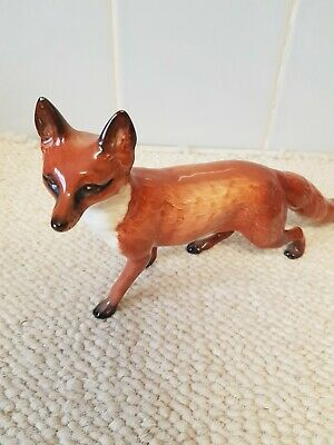 BESWICK FOX STANDING MODEL No. 1016A LARGE RED BROWN GLOSS . • 30£