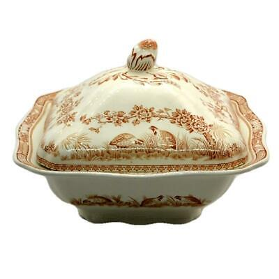 Furnivals Quail Brown & White China Tureen And Lid Rd 684771 • 37.99£