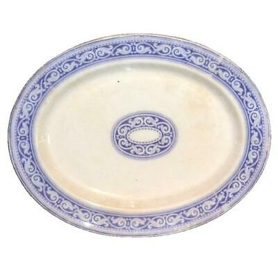 Hulse, Nixon & Adderley 20 Inch Ironstone China Meat Platter 1853 - 1878 • 59.99£