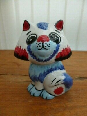 Lorna Bailey Collectors Hand Painted Signed Cat  Ted  One Of One • 49.99£