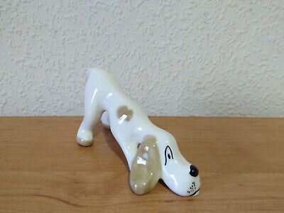 W.R. Midwinter Crouching Hound Dog Figurine • 10.99£