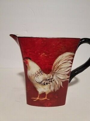 Susan Winget Rooster Pitcher • 12.16£