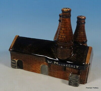MOORCROFT The 1919 Works Factory 3 Bottle Oven Model History In Making RRP £380 • 175£