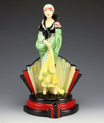 Peggy Davies / Kevin Francis Deco Lady Celebration Figurine, Rare Artists Proof • 165£