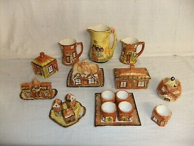 C4 Price Pottery Kensington Cottage Ware - Jugs Butter Cruet Sets Egg Cups 8A4G • 12.99£