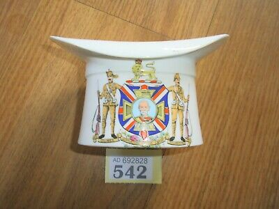 Crested China Hat The Foley Army Commemorative Item • 22£