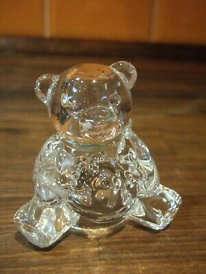 Attractive Collectable French Cristal D'Arques Bear • 20£