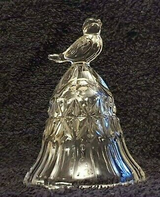 Beautiful Vintage Crystal House Of Lloyd Songbird Bell (RARE - Open Mouthed) • 1.49£