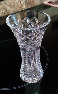 Waterford Crystal Vase, 6  Inch, Superb Condition. • 9.99£