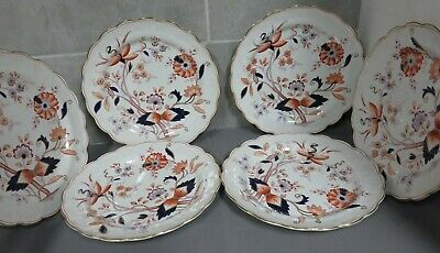 Booth's ''Fresian'' Pattern Dinner Plates X 6. Vintage.  Xaod • 9.99£