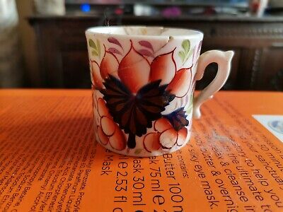 Antique 19th.century Gaudy Welsh Small Cup • 4.99£