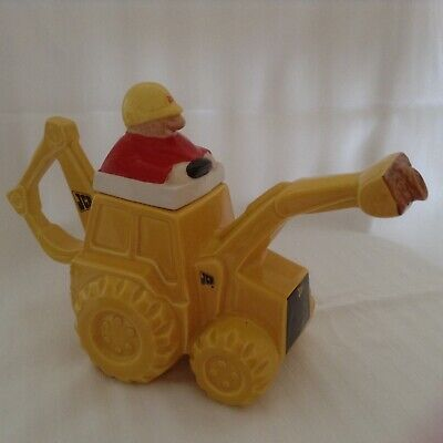 Carltonware JCB Teapot . Never Used Only As Decoration In A Teapot Collection • 29£