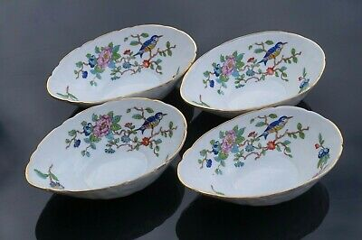 Set Of 4 Used Excellent Condition Aynsley Pembroke Bone China Oval Dishes • 10£