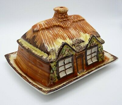 Vintage Price Kensington  Cottage Ware  Butter/Cheese Dish, Ye Olde Cottage • 9.99£