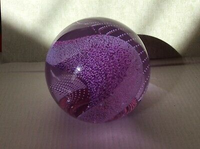 CAITHNESS GLASS PAPERWEIGHT HARMONICS Large Size • 9.99£