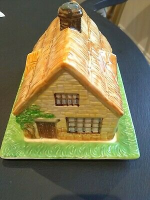 BESWICK COTTAGE WARE BUTTER/CHEESE DISH. Model 250. VINTAGE!! PERFECT!! • 12£