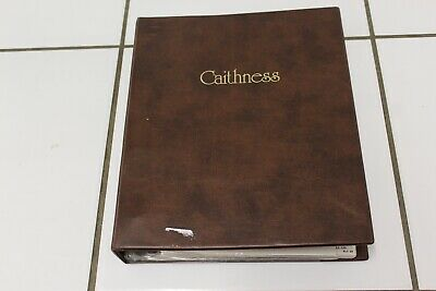 Caithness Volume 3 Collectors Club Paperweight Leaflets With Folder • 19.99£