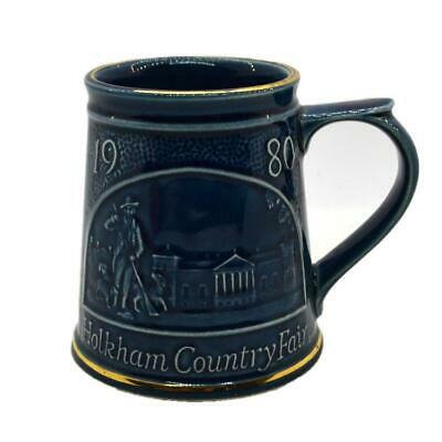 Vintage Holkham Studio Pottery 1980 Country Fair Tankard • 9.99£
