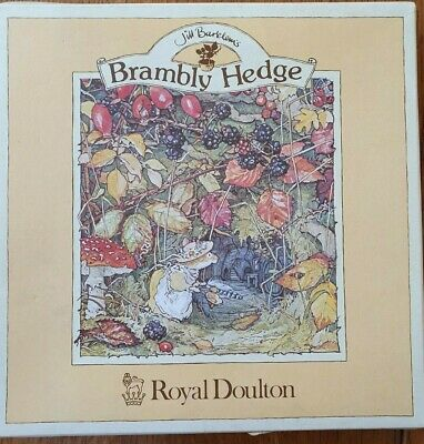 Royal Doulton Bramley Hedge  The Dairy  Plate • 9.99£