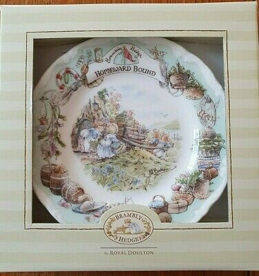 Royal Doulton Bramley Hedge  Homeward Bound  Plate • 12.50£