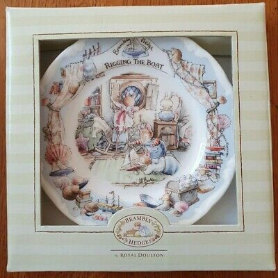 Royal Doulton Bramley Hedge  Rigging The Boat  Plate • 13.50£