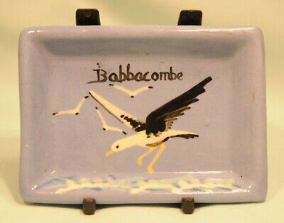 Babbacombe Pottery Pin Tray With Harry Crute Seagull Design In Very Good Conditi • 6£