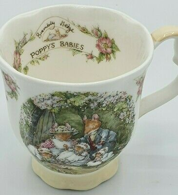 Royal Doulton Brambly Hedge  Poppy's Babies  Cup • 16£