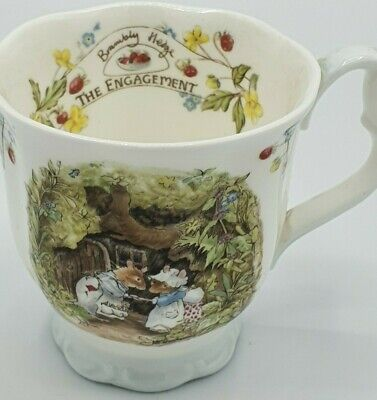 Royal Doulton Brambly Hedge  The Engagement  Cup • 15£