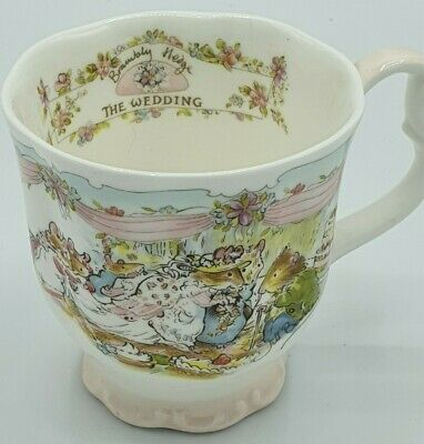 Royal Doulton Brambly Hedge  The Wedding  Cup • 15£