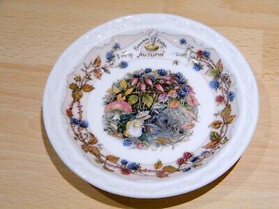 Royal Doulton Brambly Hedge Gift Collection Autumn Saucer • 8£
